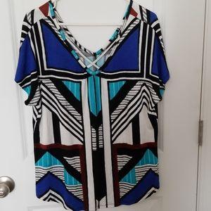 Womens Apt. 9 short sleeve v neck top